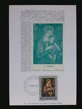 VATICAN MK 1971 MADONNA & JESUS CHRISTUS MAXIMUMKARTE MAXIMUM CARD MC CM c6227