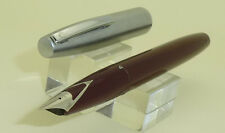 Dark Red Sheaffer Imperial Fountain Pen, F Steel Nib