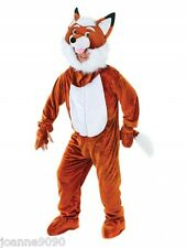Fantstic Mr Fox Fancy Dress Costume Mascot Onesie Outfit Leicester City Football