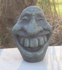 Concrete Mold Big Smiley Face  Latex rubber / fiberglass