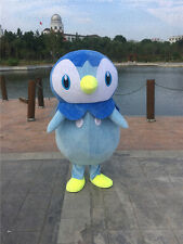 Pokemon Go Piplup Penguin Mascot Costume cosplay Fancy Dress Adult Hallowmas