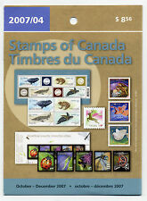 Weeda Canada 2007 Oct-Dec Quarterly Pack, sealed! Face value $9.22, pristine