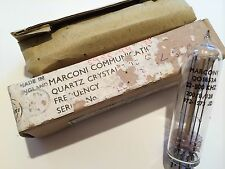 COLLECTORS MARCONI RADIO QUARTZ CRYSTAL QO1653A 22.5 Khz OBJET D'ART !     fd7L4