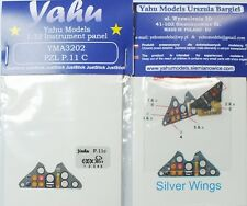 Yahu Models YMA3202 1/32 PE PZL P.11 instrument panel Silver Wings