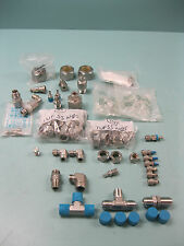 Large Lot Misc Swagelok Stainless Steel Fitting(s) NEW & USED F18 (2178)