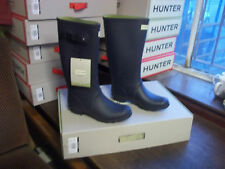 HUNTRESS WELLIES WELLINGTONS  IN HALIFAX SIZE 7 NAVY
