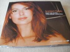 SHANIA TWAIN - DON'T BE STUPID - UK ENHANCED CD SINGLE
