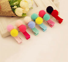 5X Balls Hair Clips for Girls Kids Hair Accessories with Random Color