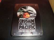 WWII Crusade in the Pacific Set DVD 2008 5-Disc Set Unopened New Metal Tin Mint