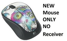 Logitech Wireless Mouse M317 Multicolor Lady on the Lily  910-003702 MOUSE ONLY