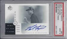 2001  sp Authentic   BRAD FAXON   sign of the times