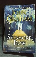 Sycamore Row by John Grisham (2014, Paperback) Political Mystery Law Fiction