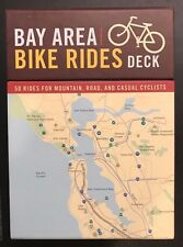 Bay Area Bike Rides Deck of 50 Bicycle Trail Map Cards (San Francisco, Oakland)