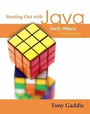 Starting Out with Java: Early Objects (3rd Edition) by Gaddis, Tony