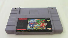 Yoshi's Island Super Mario 2 Super Nintendo SNES Game Cartridge Tested