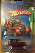 Hot Wheels 2009 Super Treasure Hunt - '34 Ford w/White Wall Real Riders #6 of 12