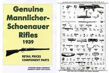 Steyr-Mannlicher Schoenauer Repeating Sporting Rifles 1939 Stoeger Gun & Parts C