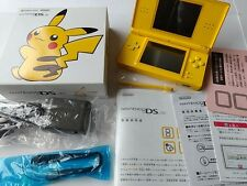 Excellent condition Nintendo DS Lite Pikachu Limited Edition console boxed-B-