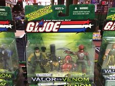 2003 GI Joe Valor vs Venom 2 Pack Action Figure MOC - TUNNEL RAT & RAZORCLAW