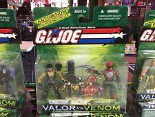 2003 GI Joe Valor vs Venom 2 Pack Action Figure MOC - TUNNEL RAT & RAZORCLAW