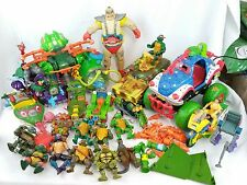 Vintage Teenage Mutant Ninja Turtles Action Figure and Vehicles Lot Krang Body