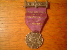 VINTAGE  I. O. O. F. ODD FELLOWS PIN MEDAL FROM CADILLAC MICHIGAN MI ENCAMPMENT