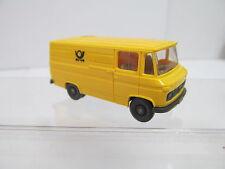 eso-13101 Wiking 1:87 Mercedes Transporter Post mit minimale Gebrauchsspuren
