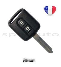 plip coque clé Nissan Navara Pathfinder Dualis Micra Primera X-trail 2 boutons