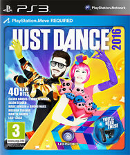 Just Dance 2016 [PS Move Required] PS3 Playstation 3 IT IMPORT UBISOFT