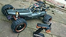 Yama 1:5 Scale Petrol RC Buggy 2.4Ghz - Pro 30cc Carbon Version