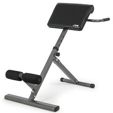 Adjustable AB Back Bench Foldable Hyperextension Exercise Abdominal Roman Chair