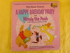 Disneyland Record 3942 A HAPPY BIRTHDAY PARTY with WINNIE THE POOH (1967)
