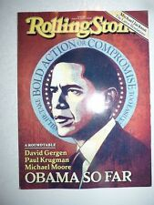 Magazine ROLLING STONES US august 2009 Obama so far