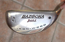Bazooka JMAX Tour Edge 27 Degree #5 Iron-Wood. Ladies Flex Graphite.