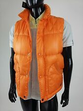 Diesel 55DSL New Men's Jumpvest Jacket Size S Color Orange Retail 135 Euro