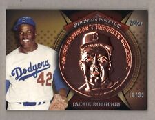 2013 Topps JACKIE ROBINSON Proven Mettle Commemorative Coin Bronze 10/99 Dodgers