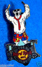 ATLANTIC CITY POLAR BEAR CLUB BERMUDA SHORTS DRUMMER DRUM KIT Hard Rock Cafe PIN