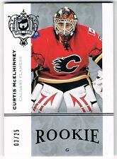 2007-08 THE CUP ROOKIE PLATINUM PARALLEL #150 CURTIS McELHINNEY 03/25 !!