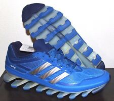 Adidas Springblade Running Training Shoes Men's Size 11 New LOOK! Adipower Blue