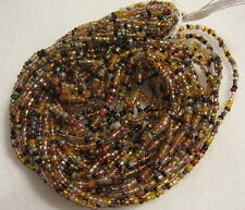 10/0 HANK BROWN MIX CZECH GLASS SEED BEADS