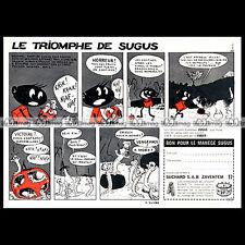 BONBONS SUGUS (Suchard) Le triomphe de Sugus 1964 - Pub / Publicité / Ad #B133