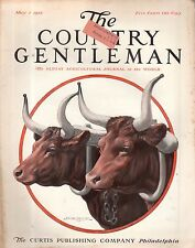 1915 Country Gentleman May 1-Oxen; Pineapples in Florida; Walnuts; Hens and Bees
