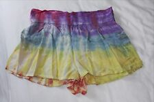 Tie dye shorts from Thailand - size S to fit age 10-12 years - waist 26 inches