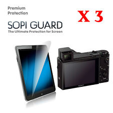 3 x Ultra Clear Screen Protector for Sony RX100 RX100II RX100III RX100IV