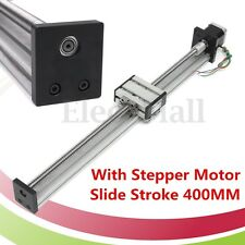 1204 Ball Screw CNC Linear Slide Stroke 400MM Long Stage Actuator Stepper Motor