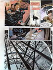 BATMAN MASTER OF THE FUTURE Pg #53 HAND COLORED PRINT GUIDE Barreto, Steve Oliff