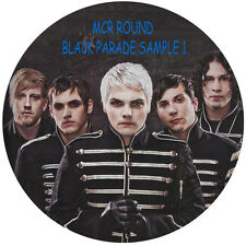 MY CHEMICAL ROMANCE  ROUND PERSONALISED EDIBLE CAKE TOPPER