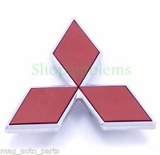 Mitsubishi Eclipse rear emblem chrome 00-01 logo badge trunk Triple Diamond Mark