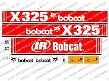 BOBCAT X325 MINI PELLE DECAL SET