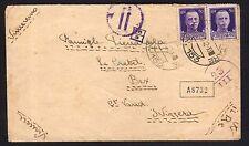POSTA MILITARE 1942 Lettera da PM 153 a Bex (FMH)